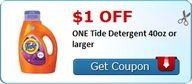 $1.00 off ONE Tide D