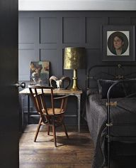 Dark and Moody Room