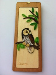 Special Bookmark Owl