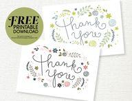 Free Printable Thank