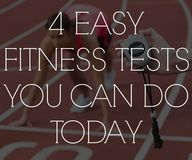 4 easy fitness tests