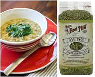 Mung Bean and Spinac
