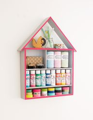 DIY Craft Storage Ho