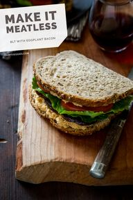 The Best Vegan BLT (