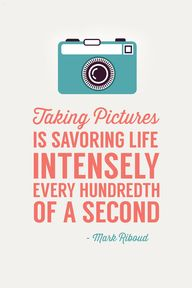 """Taking pictures is"