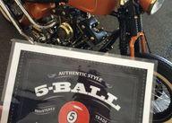 5 Ball Racing Leathe