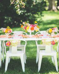 Pretty summer tables