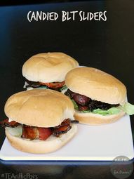 Candied BLT Sliders