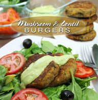 mushroomlentilburger