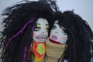 Art dolls created by