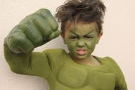 Homemade Hulk Costum