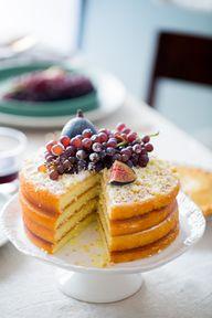 Apple layer cake wit