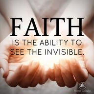 Faith is the ability