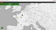 Carte interactive du