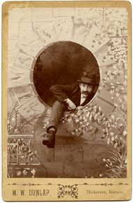cabinet card, collec