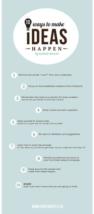Make Ideas Happen -