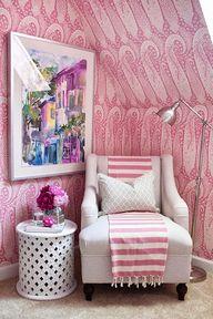 Pink Paisley Wallpap
