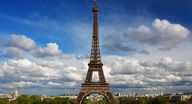 The Eiffel Tower in