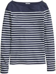 H&M - Boat-neck Top