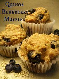 Quinoa Blueberry Muf