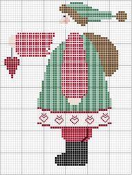Santa Cross Stitch Patterns | eBay - Electronics, Cars, Fashion