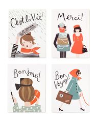 French Card Set, pre