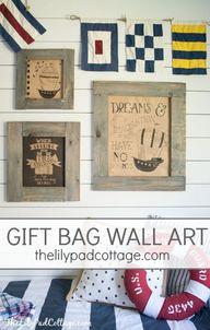 Easy Gift Bag Wall A