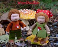 dollhouse dolls by W