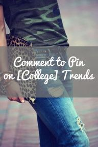 Comment on this pin...
