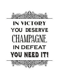 Champagne truth!