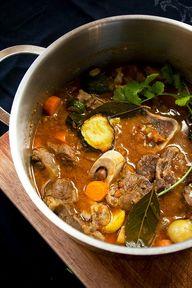 Beef shin stew, here