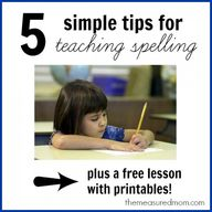 Tips for teaching sp