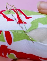 How to ladder stitch