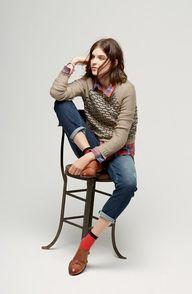 """#HUE """"Jean"""" socks #H"""