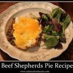 Crockpot Beef Shephe