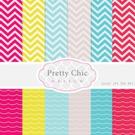 Chevron and Ruffles