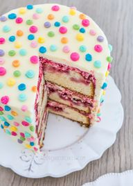 Polka Dot Icing Cake