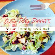 Busy Day Dinners You