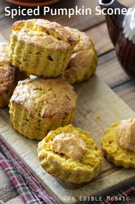 Spiced Pumpkin Scone