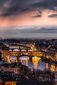 Sunset in Florence -