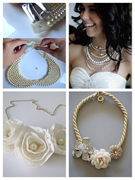 DIY necklace tutoria