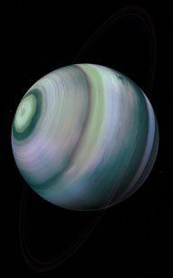 Uranus Spins On Its
