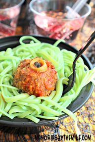 Ghoulish Meatballs &
