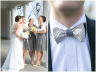 Yellow & Gray weddin