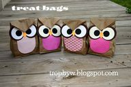 Owl Treat Bags - mad