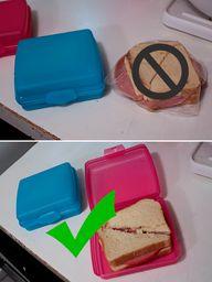 Tupperware Sandwich...