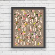 Nursery Wall Art - w