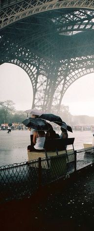 Under the Eiffel Tow