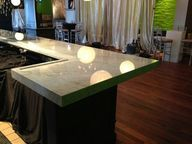Carrara marble bar m