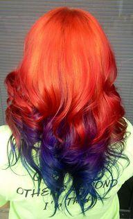 hair in colors